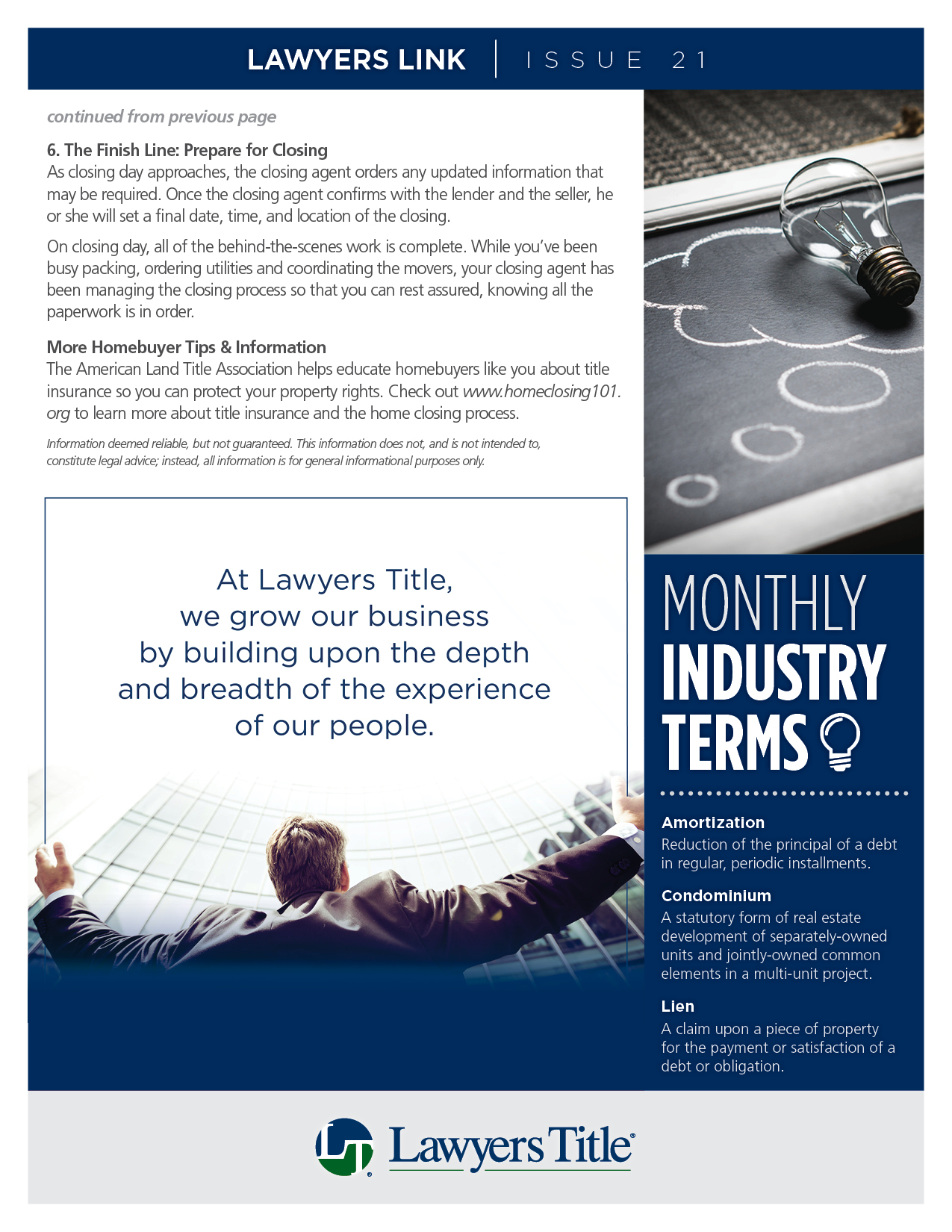 Lawyers Link Issue 21, page 3